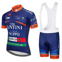 Wholesale 2018 Latest styles FANTINI cycling short sleeve jersey bib shorts sets summer bike team bicycle racing clothing outdoor sportswear J92004