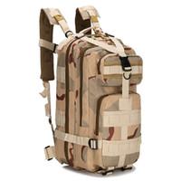 kamuflaj dışarısı sırt çantası toptan satış-9 renkler 3 P Açık Taktik Sırt Çantası 30L Kamp çantası Ordu Trekking Spor Seyahat Sırt Çantası Kamp Yürüyüş Trekking Kamuflaj Çantası