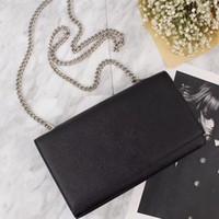 chaîne d'épaule nouvelle américaine achat en gros de-La nouvelle 2018 La mode européenne et américaine sac à bandoulière féminin sac à bandoulière sac incliné paquet de chaîne Ms