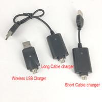 lápiz táctil inalámbrico al por mayor-Macho 510 hilo USB cable inalámbrico cable cargador para ecig batería brote táctil vape pluma batería o pluma CE3 G2 atomizador