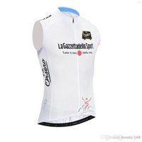 Wholesale italy cycling jersey resale online - Tour De Italy D ITALIA cycling jersey Sleeveless vest maillot ropa ciclismo mtb bicycle clothing shirt Bike clothes bicicleta