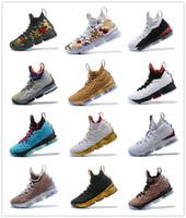 premium selection 4012f 5b69a 2018 neueste Asche Ghost Lebron 15 Männer Basketball Schuhe South Beach  Zoom Generation James 15s Turnschuhe Herren Freizeitschuhe