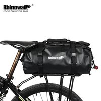 raf döngüsü poşetleri toptan satış-Toptan 2018 Bisiklet Panniers Arka Raf Çanta Bisiklet Seyahat Bisiklet MTB Dağ Bisikleti Ambalaj Mal Üzerinde Bagaj Durumda Mal Aksesuarları