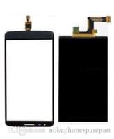 lg g3 için dokunmatik ekran paneli toptan satış-LG G3 Stylus Üst Ön Dokunmatik Ekran Digitizer Paneli + LCD Ekran için Originnal