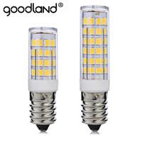 заменить галогенную лампу оптовых-Mini E14 LED Lamp 5W 7W 220V Bombillas LED Light Corn Bulb SMD2835 Crystal Chandelier G9 Bulb Light Replace Halogen