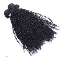 kinky kıvırcık insan saçları satılık toptan satış-Sıcak Satış kinky kıvırcık Brezilyalı bakire İnsan Saç uzantıları doğal renk fabrika toptan fiyat saç dokuma
