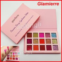 Wholesale 15 Color Eyeshadow Palette - Makeup Glamierre Beauty Passion Berry Glitter Eyeshadow Palette matte Eye shadow Glamierre ultra pigmented 15 Color Eyeshadow Palette