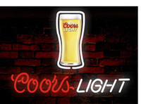 Shop coors light neon beer signs uk coors light neon beer signs coors light beer neon sign real glass tube bar store business advertising home decoration art gift display metal frame size 17x14 aloadofball Choice Image