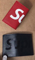 Wholesale Porte Carte - Best Fashion Box logo Porte Carte Simple Card Holder Visitenkarten Etui NEU Authentic Quality Come With Original Box And Receipt