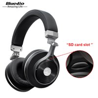 Wholesale Bluedio T3 Plus Bluetooth headphones with microphone wireless headset ANC for Iphone Samsung Xiaomi headphone
