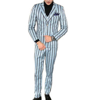 ingrosso inghilterra groom tuxedos-LEQEMAO 3 Pc Set Uomo Leisure Vintage Smoking Vintage Style Con Gilet Plaid Abiti da cerimonia nuziale formale usura 4XL