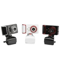 S10 16M Pixel HD Webcam 9 Magic Colori Web Camera con 3 LED Webcam per laptop Videocamera USB