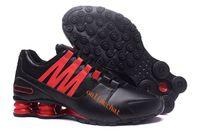 running shoes online al por mayor-nike air max Envío gratis Shox Men Avenue Zapatos para correr en línea Chaussure Homme Shox Zapatillas deportivas con cordones transpirables Zapatillas de deporte