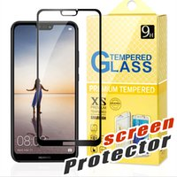 moto x vidrio templado al por mayor-Para J2 CORE Huawei Mate 20 X MOTO E4 E5 Plus G5 G6 Plus X4 Z2 Play Huawei P20 lite Pro Cubierta completa Flim 2.5D Protector de pantalla de vidrio templado