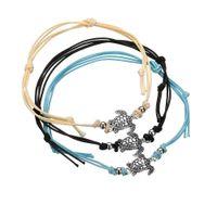 ручная цепь оптовых-Ретро ручная веревка Ankle Chain Anklets