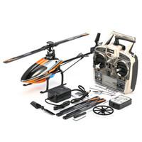 helicóptero brushless rc al por mayor-Sistema WLtoys V950 2.4G 6CH 3D6G Motor sin escobillas Flybarless RC Helicóptero RTF Para Niños Niños Regalos Presenta