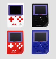 Wholesale free bite - CoolBaby RS-6 Portable Retro Mini Handheld Game Console 8 bit Color LCD Game Player For FC Game free DHL