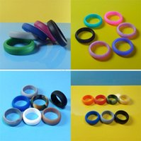 Wholesale happy anniversary gifts - Women Men Silicone Ring Multi Size Wedding Band Anniversary Gift Arts And Crafts Rubber Flexible Comfortable Rings High Quality 0 8fb Y ZW