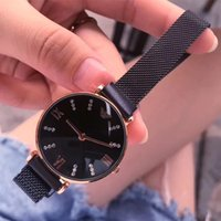 Wholesale high quality dresses for resale online - HIgh quality Fashion luxury watches for women watches rose gold Stainless Steel black Bracelet Brand female dress clock Limited Wristwatches