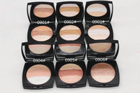 Wholesale blue illuminated - 24pc HOT NEW Makeup Compacte powder Face Contour Cosmetics POWDER LUMIERES DE KYOTO BLUSH HARMONY Illuminating Powder Shimmer Pressed Face P
