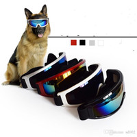 Wholesale dog sunglasses extra small online - Pet Eyeglasses Dog Sunglasses Ultraviolet Proof Big Dogs Professional Glasses Ultrathin Lightness Pets Supply fs gg