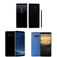 boxed playing cards 2018 - Free DHL Goophone 9 plus note 8 N9 Octa Core 1gb Ram 16gb Rom Unlocked Cell phones shown 4G LTE octa core 4G RAM 64gb Rom Sealed box