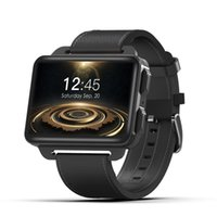 akıllı saatli telefon android wifi toptan satış-DM99 Android Akıllı Seyretmek Telefon 1 GB 16 GB 1200 Mah Pil 130 W Kamera GPS WiFi SIM MP4 3G Smartwatch LEM4 PRO saat gibi