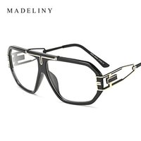 8718c860a86f MADELINY Classic Brand Designer Glasses Frame Men High Quality Clear Lens  Optical Eyeglasses Frame Women MA141