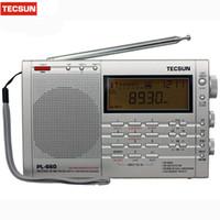 Wholesale tecsun air radio resale online - TECSUN PL Radio PLL SSB VHF AIR Band Radio Receiver FM MW SW LW Multiband Dual Conversion TECSUN PL660 Y4133A