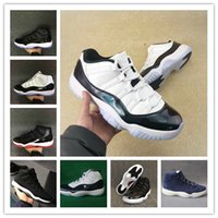 Wholesale canvas shoes men 11 for sale - Group buy With Box Easter Space jam gym red Chigago midnight blue Heiress Bred concord men basketball shoes sports sneakers size