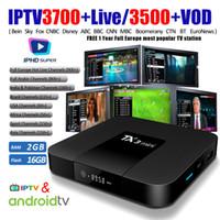 Wholesale arabic iptv online - Best French IPTV Box TX3 mini Android TV Box with Year IPTV subscription Sports Europe France Arabic Africa Brazil Latin Brazil IPTV