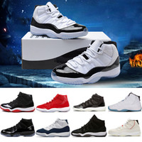 Wholesale basketball sneakers navy gold - Basketball Shoes s Concord Prom Night Gym red Midnight Navy Bred University blue men trainers Sport Sneakers SIZE