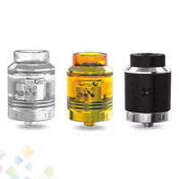 Wholesale Authentic OUMIER VLS RDA Tank Ecig Five Holes Side Airflow System Unique Build Deck Vertical Coil and Transverse Coil DHL Free