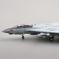 Wholesale 72 models - EASY MODEL 37191 1 72 Assembled Model Scale Finished Airplane Scale Aircraft F14 F-14D VF-101