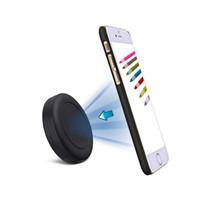 ingrosso supporto auto per nota galassia-Universal Stick su Flat Magnetic Car Mount Phone / Key Holder per iPhone 7 6 6S Plus 5S 5C SE, Samsung Galaxy S6 / S7 Edge Plus S5 Nota 5 4,