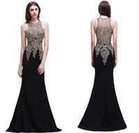 Wholesale designer mothers dresses for sale - Designer Mother of the Bride Occasion Dresses Mermaid Beaded Embroidery Long Evening Gowns Sheer Back Formal Prom Dress