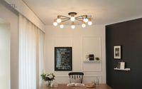 candelabros vintage al por mayor-Sala de estar minimalista japonesa creativa chandeliers chinas luces simples corea dormitorio estudio de la vendimia luz de iluminación chandelier