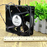 fans del servidor delta al por mayor-Original Delta AFC1212DE 12038 12 cm 120 mm 12 V 1.6A pwm bola ventilador termostato inversor servidor ventilador de refrigeración