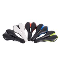 Wholesale hollow saddle for sale - Group buy Fashion Soft Bike Saddles Comfortable Hollowed Out Design Bicycle Saddle Breathable Cycling Cushion Seat Factory Direct Sale sl B