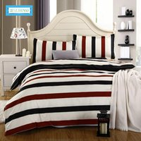 Wholesale Bedspread White Jacquard - BEST.WENSD Best Wands 4pcs Bedding Set Bed Linen Duvet Cover Pillowcases Bed Sheet Sets Home Textile Full Coverlets Bedspreads