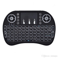 ingrosso tastiera del mouse bluetooth per android-Tastiera della tastiera del mouse / mouse della tastiera del mouse / tastiera del telecomando del bluetooth wireless per PC Smart TV Android 2.4GHz ricaricabile