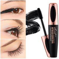 freie wimpernbürsten großhandel-MACFEE Silk Faser EyeLash Make-up wasserdichte Silikon-Bürsten-Kopf-Wimperntusche, die dickere Wimperntusche verlängert DHL geben Verschiffen frei