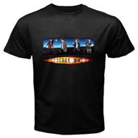 saf pamuk gömlek erkek toptan satış-Yeni Doctor Who Süper Doktor TV Show erkek Siyah T-shirt Boyutu S M L XL 2XL 3XL Saf Pamuk Yuvarlak Yaka Erkekler üst tee