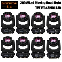 Wholesale Used Beams - TIPTOP 8 Pack 200W Tyanshine White Led Four Head Moving Beam Light, Use For Disco, Ballroom, KTV, Bar ,Club, Party, Wedding TP-L660
