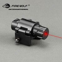 Wholesale red mount for gun for sale - Group buy 2018 New L2028 Laser Hunting Mini Tactical Red Laser Gun Sight For Pistols Weaver Mount Hunting Laser Sight