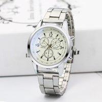 мужские наручные часы оптовых-Simple Mens  Quartz Watches Korean style Male Sport Watch Fashion Casual  Male Clock Relogio Masculino 2019
