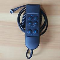ingrosso metallo letti-Sei pulsanti Maniglia telecomando Telecomando Doppio motore Letto elettrico Base telaio in metallo Base Rise regolabile Sollevamento materasso Sollevare i piedi
