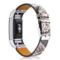 weiche lederarmbänder großhandel-Drop verschiffen Ersatz Luxus Echtem Leder Band Armband Für Fitbit Charge 2 Soft Calf Luxe Klassische armband