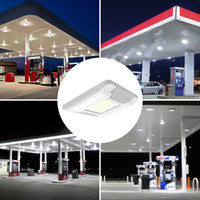 Wholesale Outdoor Canopies Wholesale - 60W 100W 130W 150W LED Canopy Lights Outdoor led flood light Gas Station Lamp High Bay light AC 100-277V UL DLC Listed