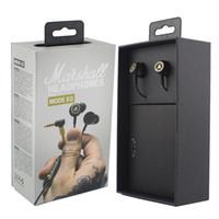 ingrosso auricolari dj-Marshall Mode EQ Auricolari con microfono DJ Hi-Fi Cuffie HiFi Cuffie professionali per DJ Monitor per cellulare